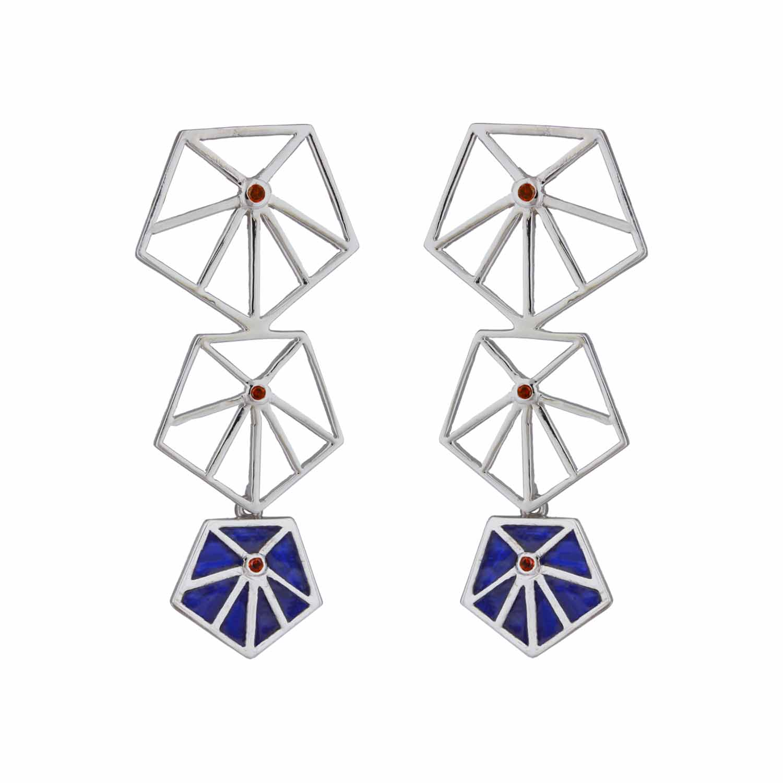 Prism Blue Earrings